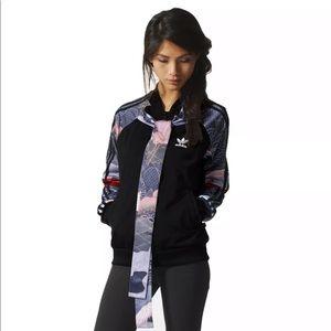 Adidas x Rita Ora kimono print track jacket
